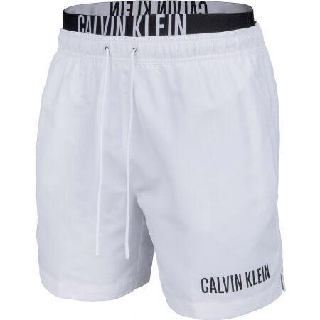 Calvin Klein MEDIUM DOUBLE WB - Pánske šortky do vody
