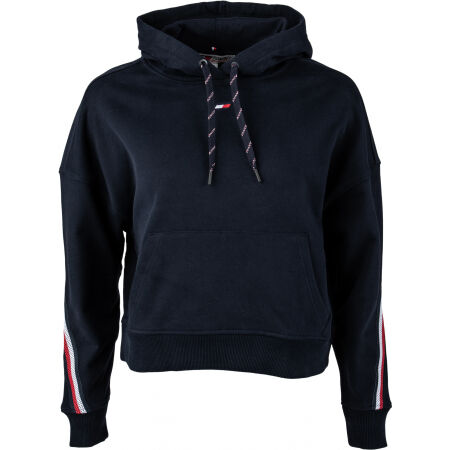 Tommy Hilfiger RELAXED TAPE HOODIE LS - Дамски суитшърт