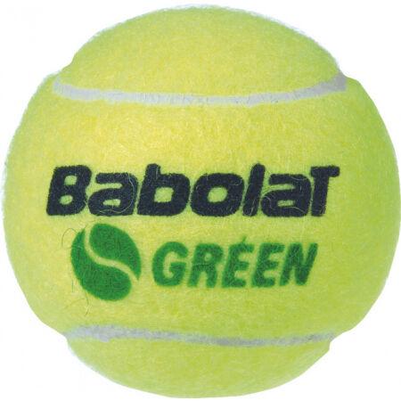 Babolat GREEN X3 - Mingi de tenis