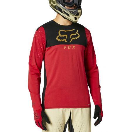 Fox FLEXAIR DELTA - Мъжка фланелка за колело