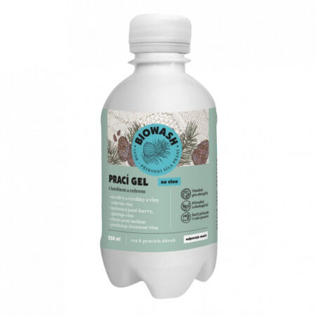 Bio Wash Prací gél s cédrom a lanolínom