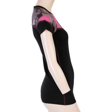 Women's functional T-shirt - Sensor MERINO IMPRESS KR W - 5