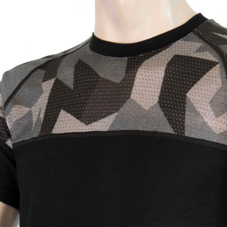Men's functional T-shirt - Sensor MERINO IMPRESS KR M - 5