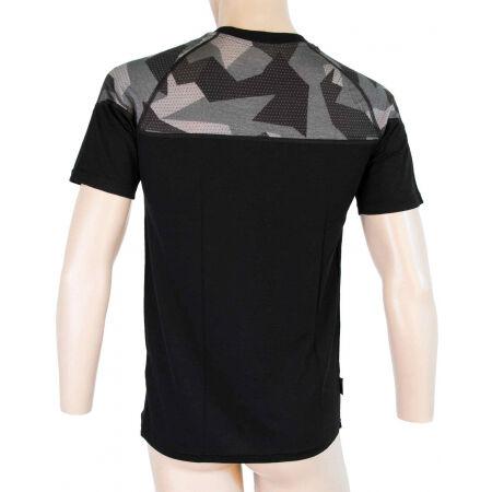 Men's functional T-shirt - Sensor MERINO IMPRESS KR M - 3