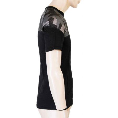 Men's functional T-shirt - Sensor MERINO IMPRESS KR M - 4