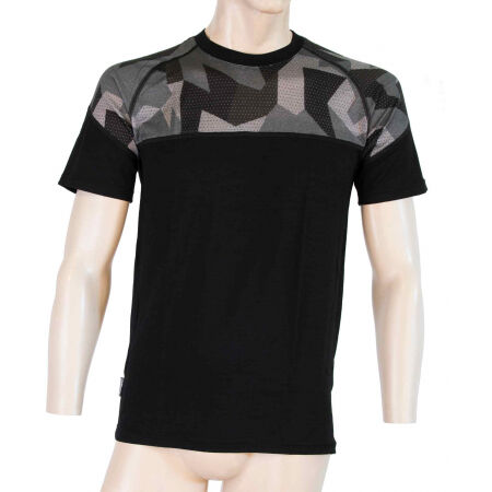 Men's functional T-shirt - Sensor MERINO IMPRESS KR M - 2