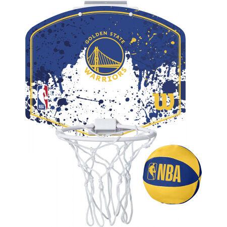 Wilson NBA MINI HOOP WARRIORS - Coș mini de baschet