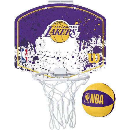 Wilson NBA MINI HOOP LAKERS