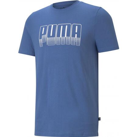 Puma PUMA BASIC TEE - Men's T-Shirt