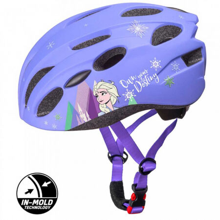 Disney ĽADOVÉ KRÁĽOVSTVO II - Dievčenská cyklistická prilba