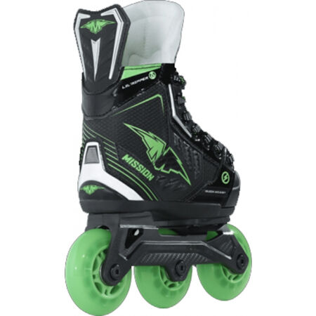 Kids' inline skates - Bauer MISSION RH LIL´ RIPPER ADJ SKATE YTH - 2