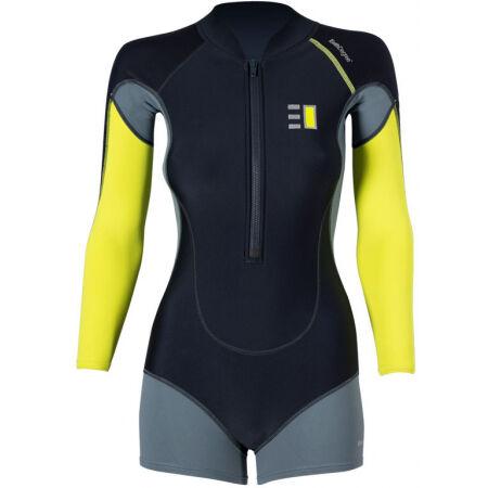ENTH DEGREE CIRRUS LS - Bluză cu pantaloni scurți damă pentru sporturi nautice