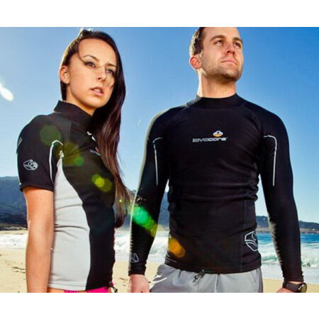 Short sleeved water top - LAVACORE LC SHIRT SHORT SLEEVE - 3