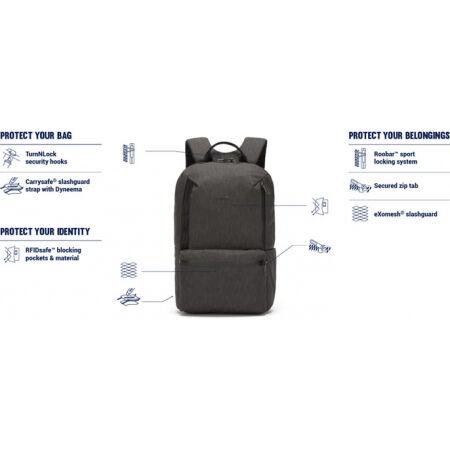 Men's safety city backpack - Pacsafe METROSAFE X 20L BACKPACK - 3