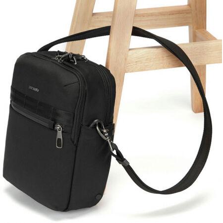 Men's safety shoulder bag - Pacsafe METROSAFE X VERTICAL CROSSBODY - 11
