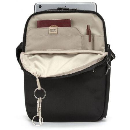 Men's safety shoulder bag - Pacsafe METROSAFE X VERTICAL CROSSBODY - 10