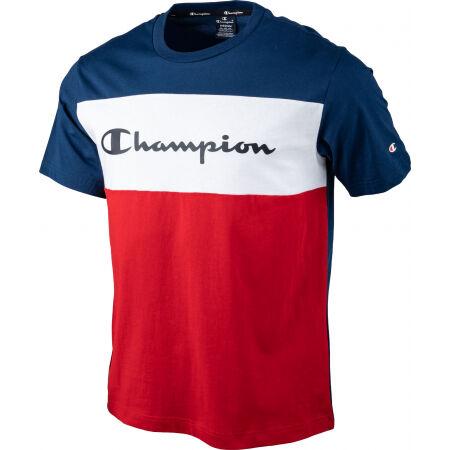 Pánské tričko - Champion CREWNECK T-SHIRT - 2