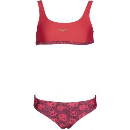 Dievčenské dvojdielne plavky - Arena MERYL JR TOP TWO PIECES - 2