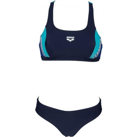 Дамски бански костюм от две части - Arena THREEFOLD TWO PIECES - 2