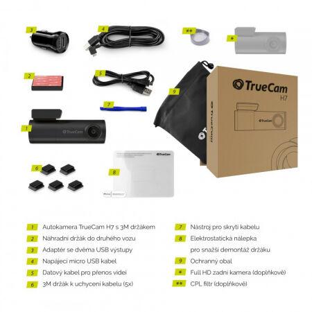 Car camera - TrueCam H7 GPS 2.5K - 5