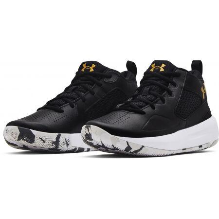 Унисекс баскетболни обувки - Under Armour LOCKDOWN 5 - 3