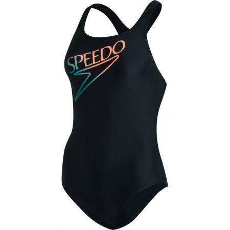Speedo RETRO LOGO MEDALIST - Costum de baie damă