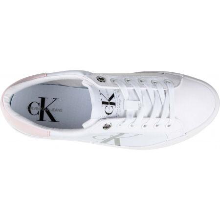 Dámska obuv na voľný čas - Calvin Klein VULCANIZED FLATFORM LACEUP NY - 4