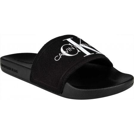 Calvin Klein SLIDE MONOGRAM CO - Dámské pantofle