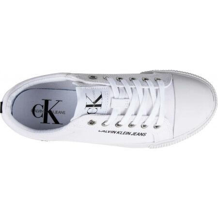 Dámske tenisky - Calvin Klein VULCANIZED SNEAKER LACEUP CO - 5