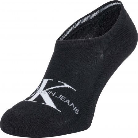 Calvin Klein MEN LINER 1P CK JEANS LOGO VINNIE - Pánske ponožky