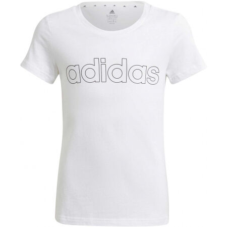 adidas LIN TEE - Girls' T-shirt