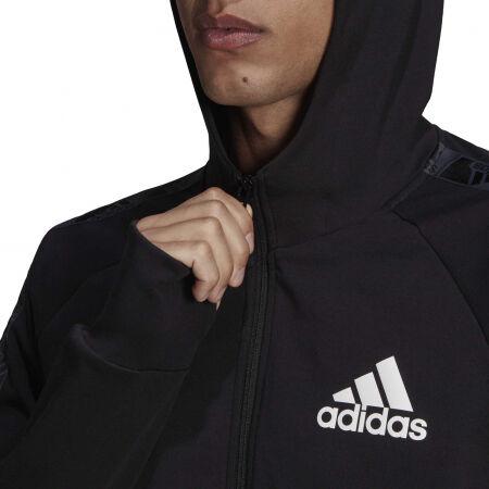 Men's sports sweatshirt - adidas MT FZ HOODIE - 7