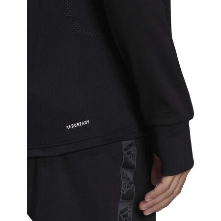 Men's sports sweatshirt - adidas MT FZ HOODIE - 8