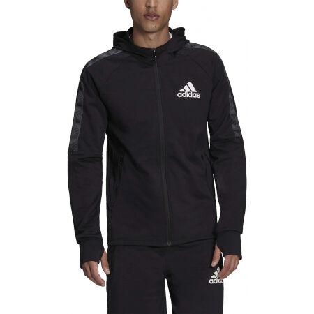 Men's sports sweatshirt - adidas MT FZ HOODIE - 2