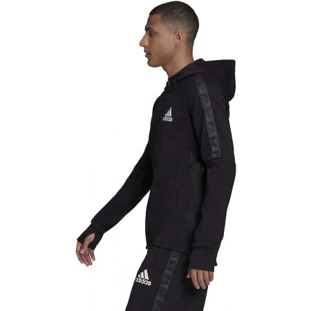 Men's sports sweatshirt - adidas MT FZ HOODIE - 4
