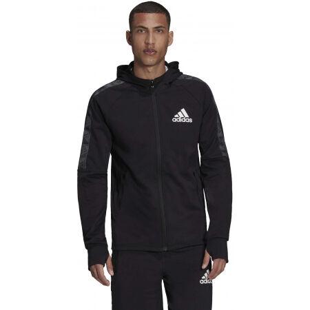 Men's sports sweatshirt - adidas MT FZ HOODIE - 3
