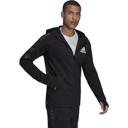 Men's sports sweatshirt - adidas MT FZ HOODIE - 5