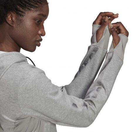 Дамски суитшърт - adidas HOODED TRACK TOP - 7