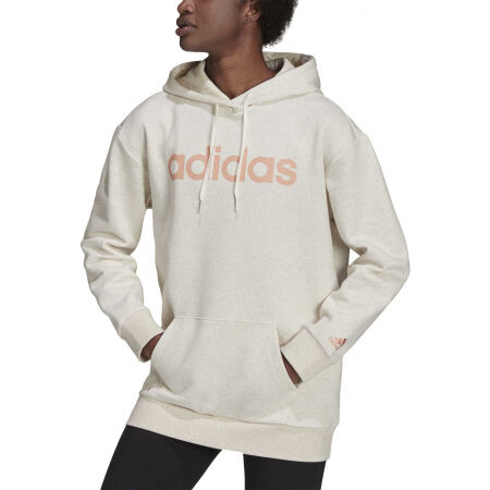 Dámská mikina - adidas W LIN OV FL HD - 2