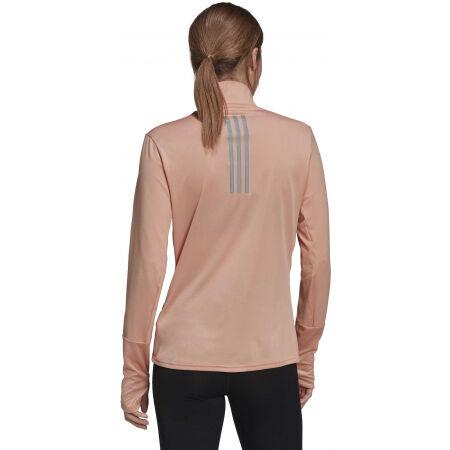 Dámské běžecké tričko - adidas OTR 1/2 ZIP - 5