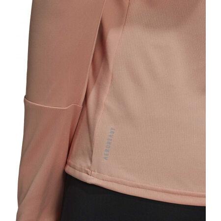 Dámské běžecké tričko - adidas OTR 1/2 ZIP - 7