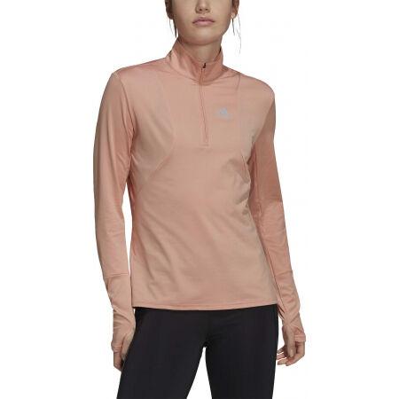 Dámské běžecké tričko - adidas OTR 1/2 ZIP - 2