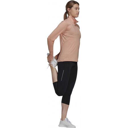 Dámské běžecké tričko - adidas OTR 1/2 ZIP - 4