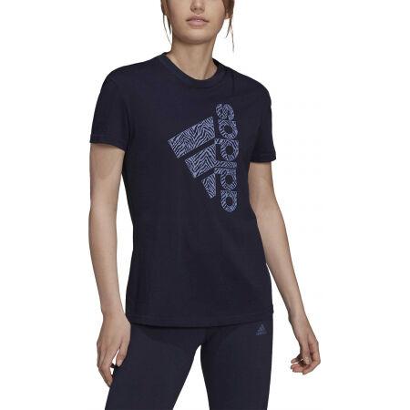 Tricou de damă - adidas VRTCL ZBR G T - 2