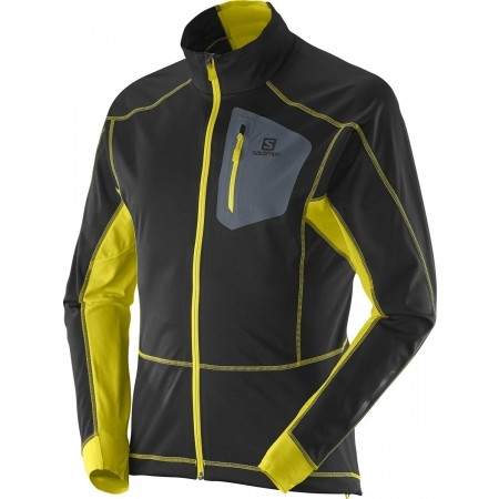 Pánská bunda na běžky - Salomon EQUIPE SOFTSHELL JACKET M - 1 e6df0c429e0