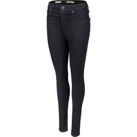 Levi's MILE HIGH SUPER SKINNY BLACK G - Pantaloni damă