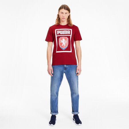 Men's football T-shirt - Puma FACR PUMA DNA TEE - 4