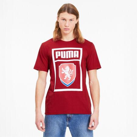 Men's football T-shirt - Puma FACR PUMA DNA TEE - 2