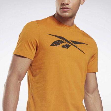 Мъжка тениска - Reebok VECTOR STATEMENT TEE - 4