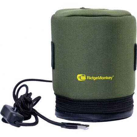 RIDGEMONKEY ECOPOWER USB HEATED GAS CANISTER COVER - Heated gas canister cover